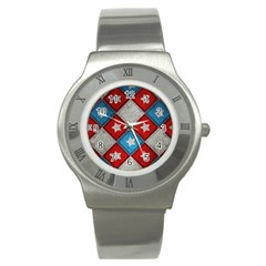 Atar Color Stainless Steel Watch