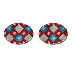 Atar Color Cufflinks (oval)