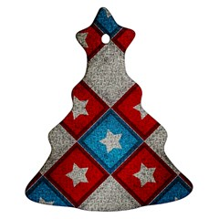 Atar Color Christmas Tree Ornament (two Sides)