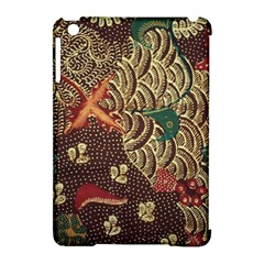 Art Traditional Flower  Batik Pattern Apple Ipad Mini Hardshell Case (compatible With Smart Cover)