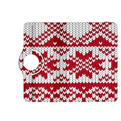Crimson Knitting Pattern Background Vector Kindle Fire Hdx 8 9  Flip 360 Case