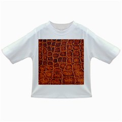 Crocodile Skin Texture Infant/toddler T Shirts
