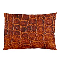 Crocodile Skin Texture Pillow Case (two Sides)