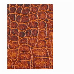 Crocodile Skin Texture Large Garden Flag (two Sides)