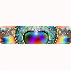 Rainbow Fractal Large Bar Mats