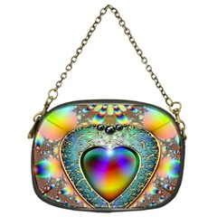 Rainbow Fractal Chain Purses (two Sides)