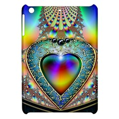 Rainbow Fractal Apple Ipad Mini Hardshell Case