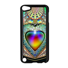 Rainbow Fractal Apple Ipod Touch 5 Case (black)