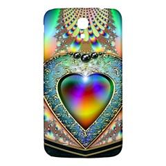 Rainbow Fractal Samsung Galaxy Mega I9200 Hardshell Back Case
