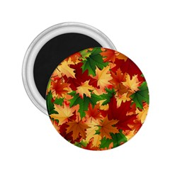 Autumn Leaves 2 25  Magnets