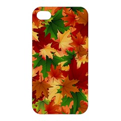 Autumn Leaves Apple Iphone 4/4s Hardshell Case