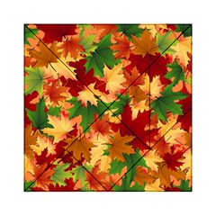 Autumn Leaves Acrylic Tangram Puzzle (6  X 6 )