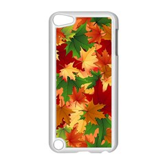 Autumn Leaves Apple Ipod Touch 5 Case (white)