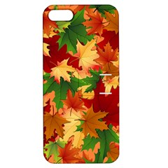 Autumn Leaves Apple Iphone 5 Hardshell Case With Stand