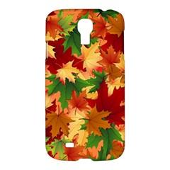 Autumn Leaves Samsung Galaxy S4 I9500/i9505 Hardshell Case