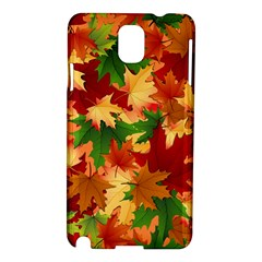Autumn Leaves Samsung Galaxy Note 3 N9005 Hardshell Case