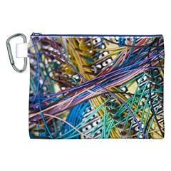Circuit Computer Canvas Cosmetic Bag (xxl)