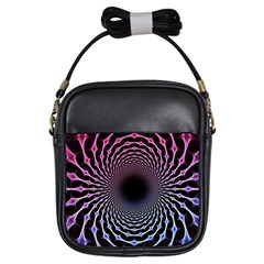 Spider Web Girls Sling Bags