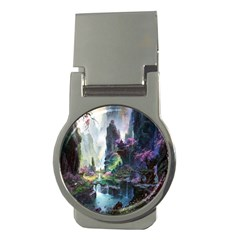 Fantastic World Fantasy Painting Money Clips (round)