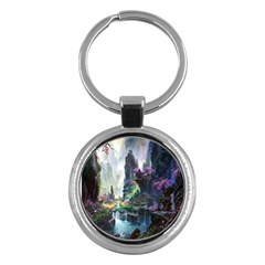 Fantastic World Fantasy Painting Key Chains (round)