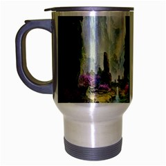 Fantastic World Fantasy Painting Travel Mug (silver Gray)