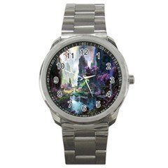 Fantastic World Fantasy Painting Sport Metal Watch