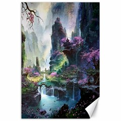 Fantastic World Fantasy Painting Canvas 24  X 36