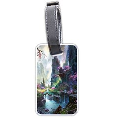 Fantastic World Fantasy Painting Luggage Tags (one Side)