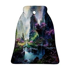 Fantastic World Fantasy Painting Bell Ornament (two Sides)