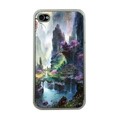 Fantastic World Fantasy Painting Apple Iphone 4 Case (clear)
