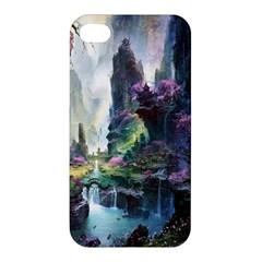 Fantastic World Fantasy Painting Apple Iphone 4/4s Hardshell Case