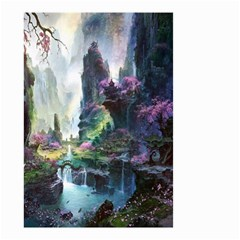 Fantastic World Fantasy Painting Small Garden Flag (two Sides)