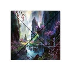 Fantastic World Fantasy Painting Acrylic Tangram Puzzle (4  X 4 )