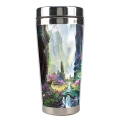 Fantastic World Fantasy Painting Stainless Steel Travel Tumblers