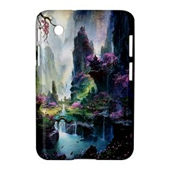 Fantastic World Fantasy Painting Samsung Galaxy Tab 2 (7 ) P3100 Hardshell Case