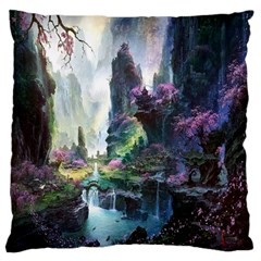 Fantastic World Fantasy Painting Standard Flano Cushion Case (one Side)
