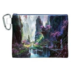 Fantastic World Fantasy Painting Canvas Cosmetic Bag (xxl)