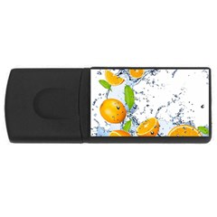 Fruits Water Vegetables Food Rectangular Usb Flash Drive
