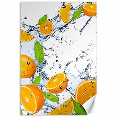 Fruits Water Vegetables Food Canvas 24  X 36