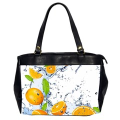 Fruits Water Vegetables Food Office Handbags (2 Sides)