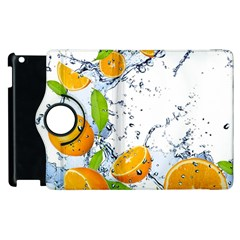 Fruits Water Vegetables Food Apple Ipad 3/4 Flip 360 Case