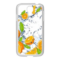 Fruits Water Vegetables Food Samsung Galaxy S4 I9500/ I9505 Case (white)