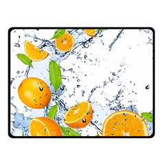 Fruits Water Vegetables Food Double Sided Fleece Blanket (small)