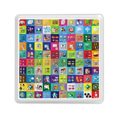 Exquisite Icons Collection Vector Memory Card Reader (square)