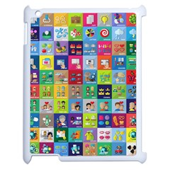 Exquisite Icons Collection Vector Apple Ipad 2 Case (white)