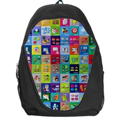 Exquisite Icons Collection Vector Backpack Bag