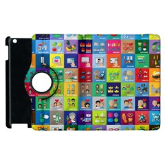 Exquisite Icons Collection Vector Apple Ipad 3/4 Flip 360 Case