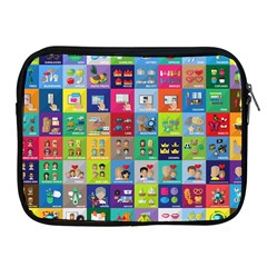 Exquisite Icons Collection Vector Apple Ipad 2/3/4 Zipper Cases