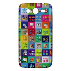 Exquisite Icons Collection Vector Samsung Galaxy Mega 5 8 I9152 Hardshell Case