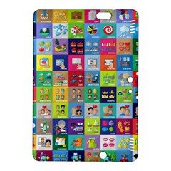 Exquisite Icons Collection Vector Kindle Fire Hdx 8 9  Hardshell Case